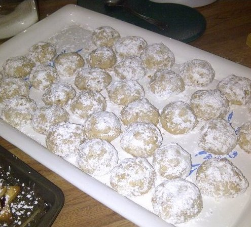 Hazelnut Tea Cakes